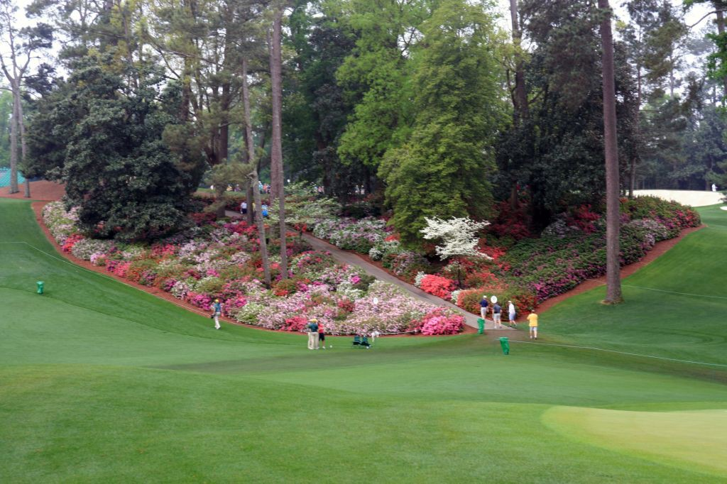 The rolling hills at Augusta National are a feast for the eyes and a great workout!